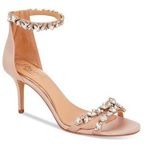 Jewel Badgley Mischka Caroline Embellished